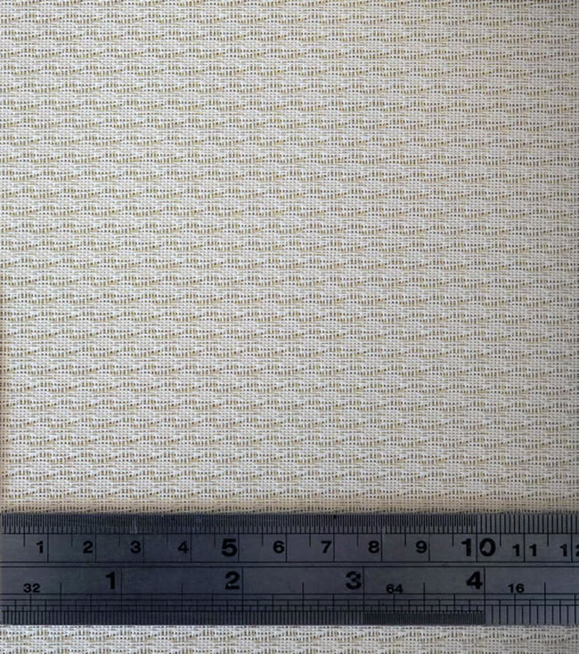 White Classic Weave Acoustic Cloth