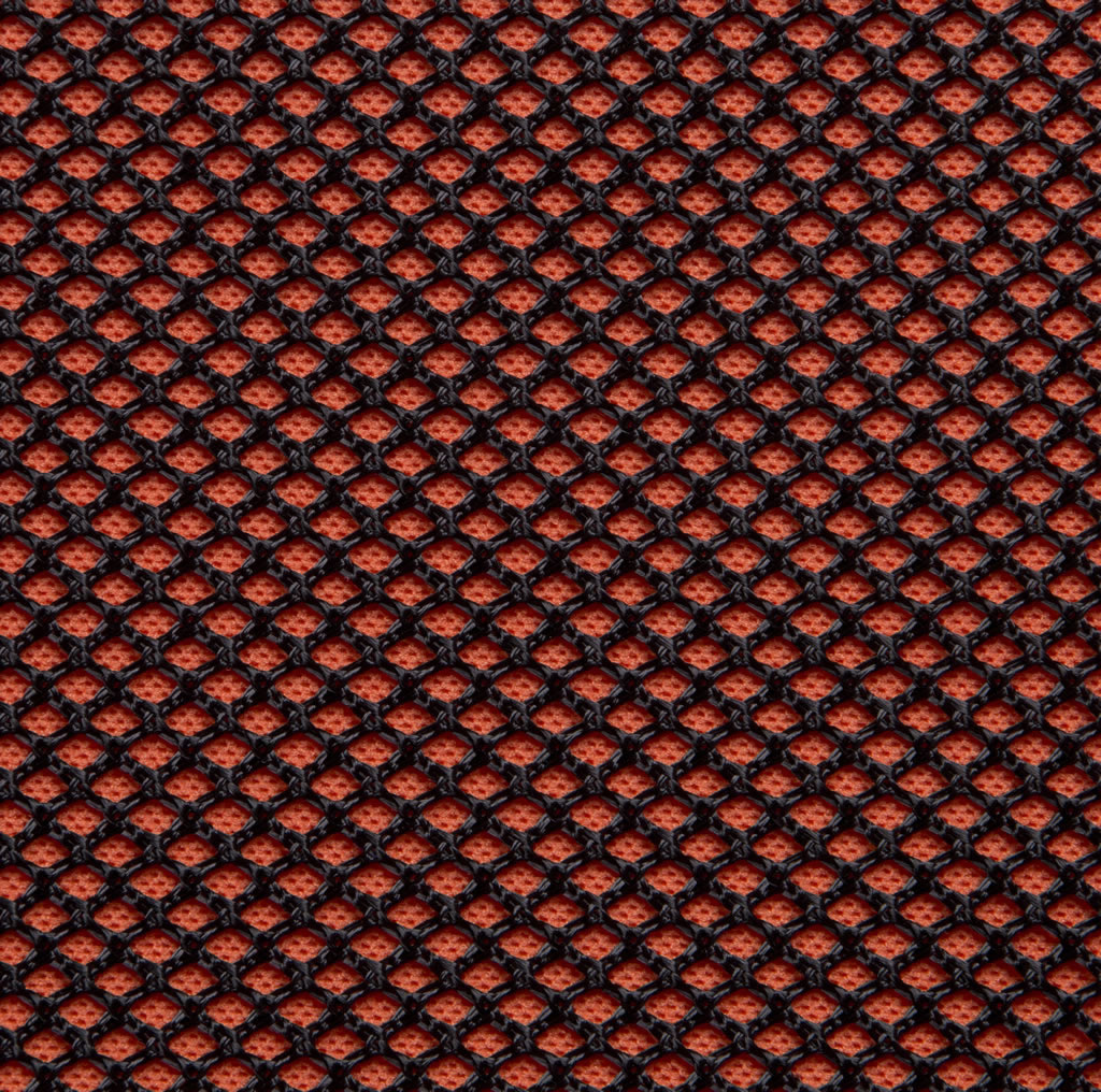 Black on Mandarin Professional Acoustic Cloth