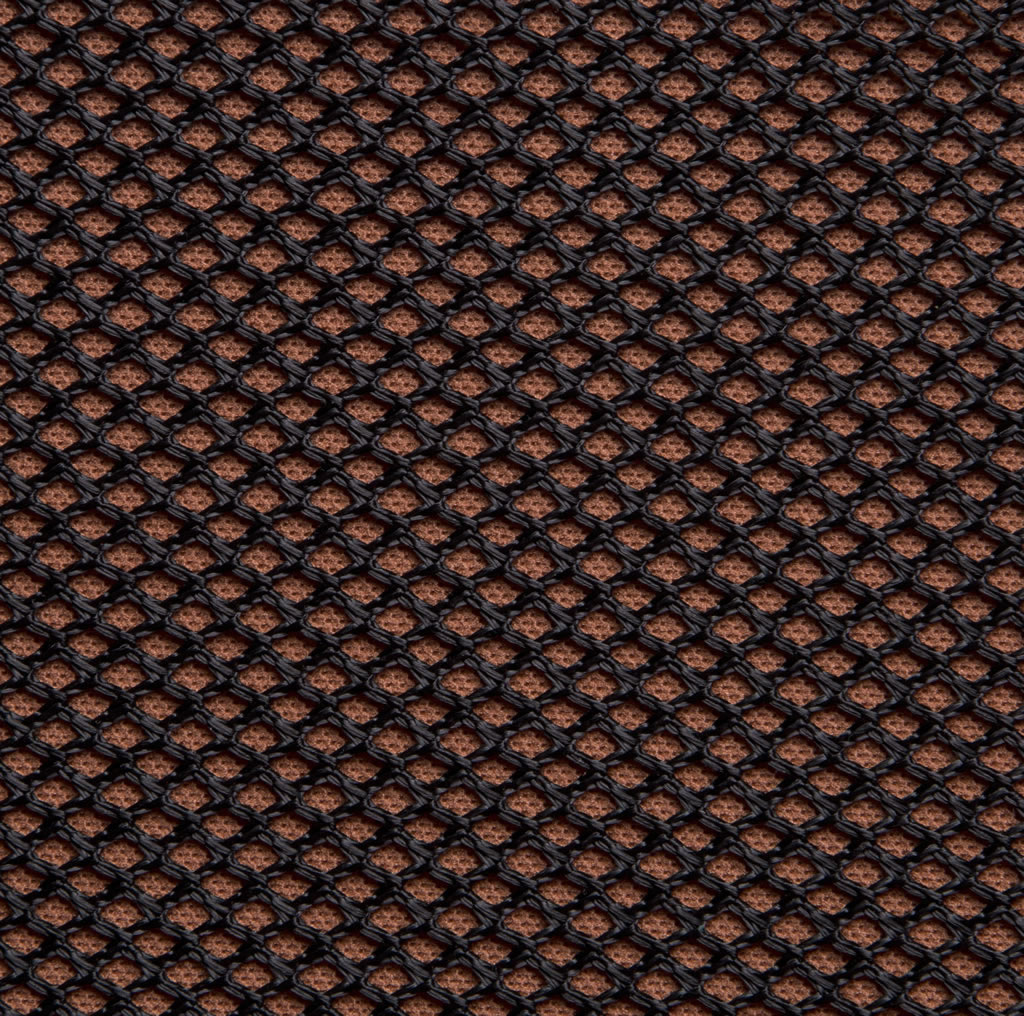 Black on Terracotta Professional Acoustic Cloth