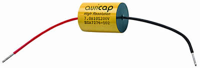 Auricap capacitors.