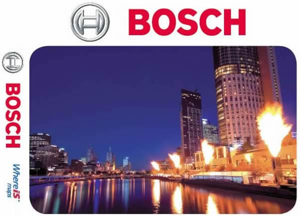 Bosch Whereis Map Disc for Mercedes and other vehicles.