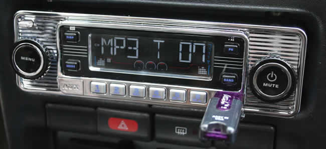 soundlabs group classic car radio usa4din. Black Bedroom Furniture Sets. Home Design Ideas