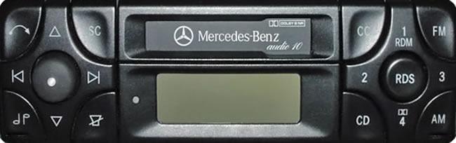 soundlabs group mercedes benz audio 10 be3101 radio cassette. Black Bedroom Furniture Sets. Home Design Ideas