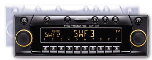 Becker Porsche CDR-22 radio.