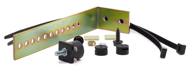 Parts supplied with the PGMAG magnetic sensor.