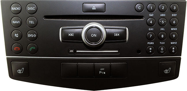 Examples of compatible APS NTG4 navigation unit in Mercedes Benz.