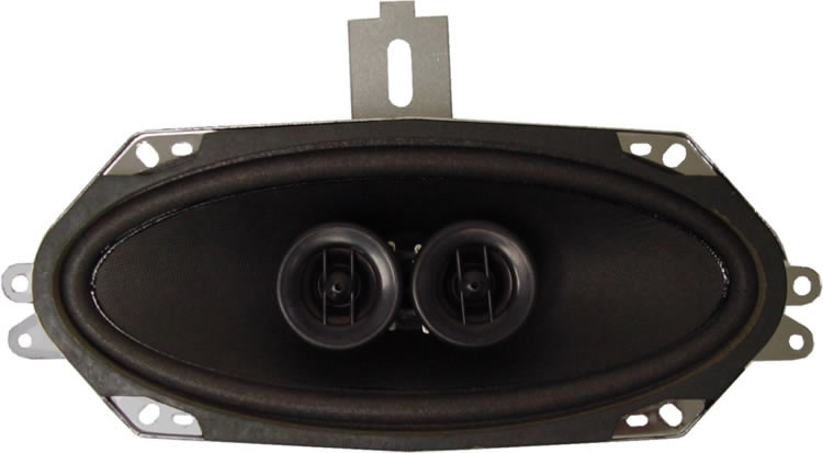 Custom Autosound Dual Voice Coil Speaker 4x10 - Model DVC 4001