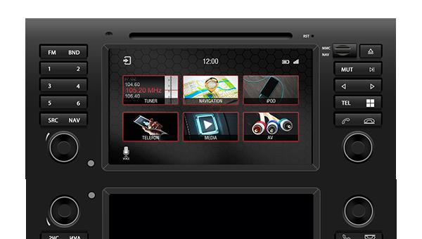 Soundlabs Group Dynavin Navigation Audio System BMW 5 Series Range Rover