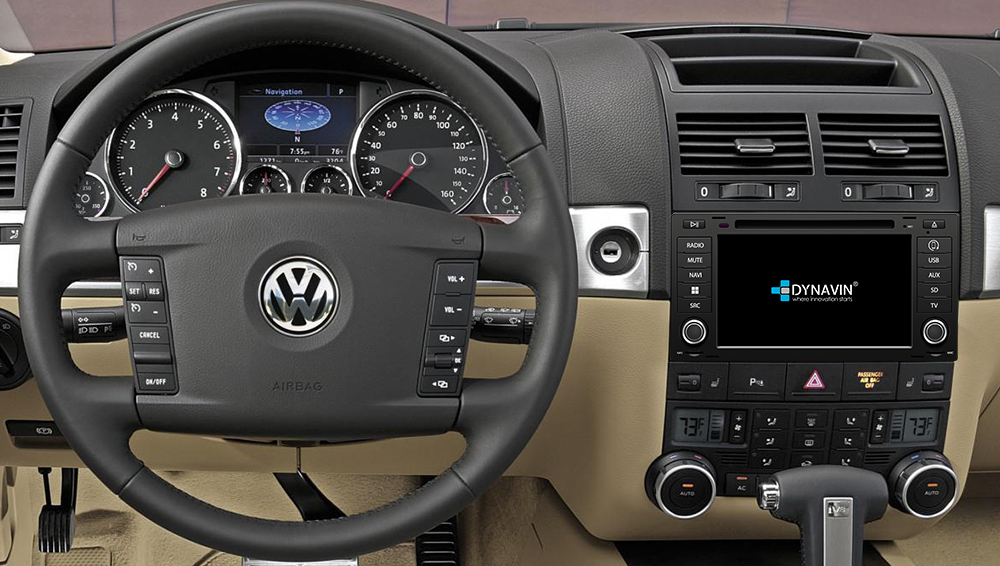 Soundlabs Group Dynavin Navigation Audio System VW Touareg & T5