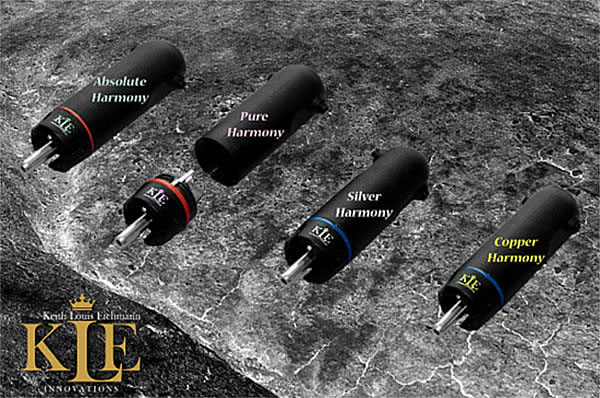 Keith Louis Eichmann's new bullet plug design family, Harmony.