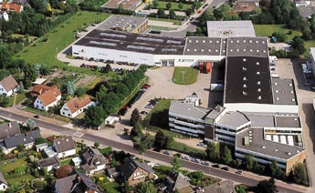 Monacor headquarters in Germany.