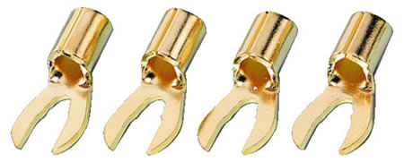 Spades cable lugs