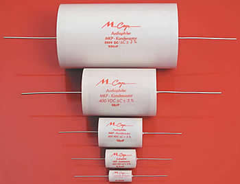 Mundorf Polypropylene Capacitors - Click for more...