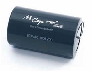 Mundorf Silver Oil capacitors - click for more...