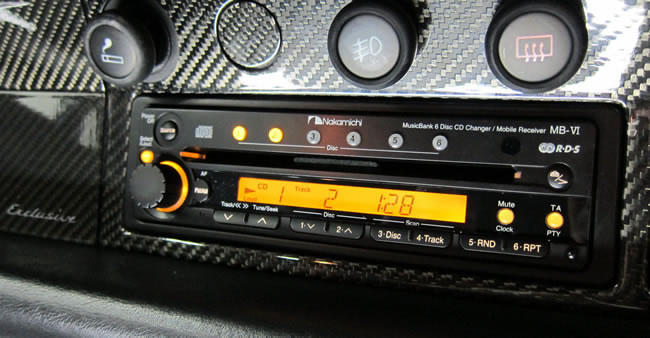 Soundlabs Group Nakamichi Car Radio Multi Cd Mbvi