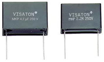 MKP foil capacitor examples - click for more.