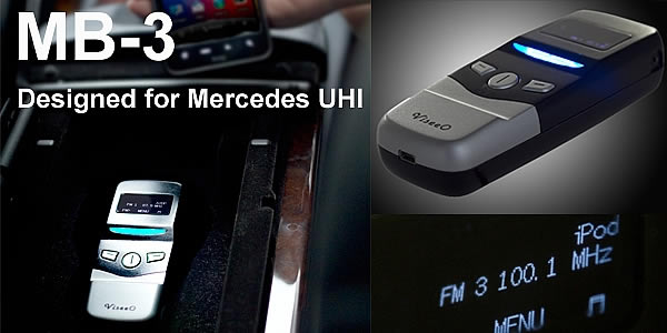 Viseeo MB-3+ Bluetooth for Mercedes Benz