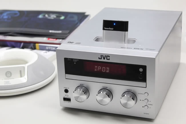 Tune2Air aangemeerd in een thuis-systeem.